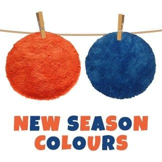 Add a splash of colour to your room with the new season rug colours ! 8 Colours to choose from