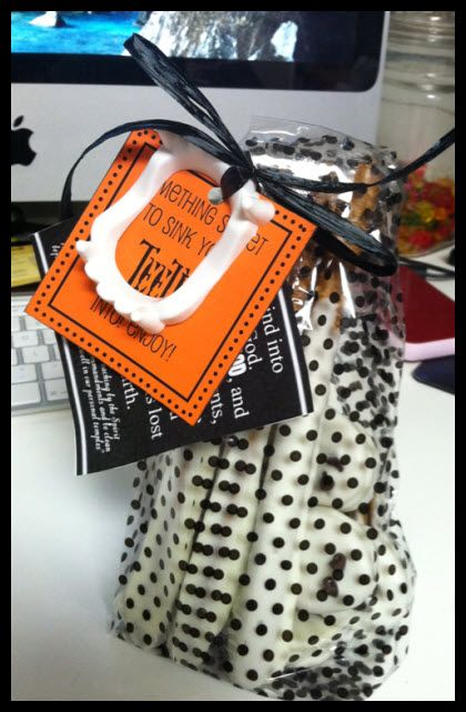 Halloween Missionary Care Package Printables