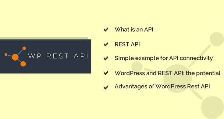 The REST WordPress API development has a lot of potential for the future of web…