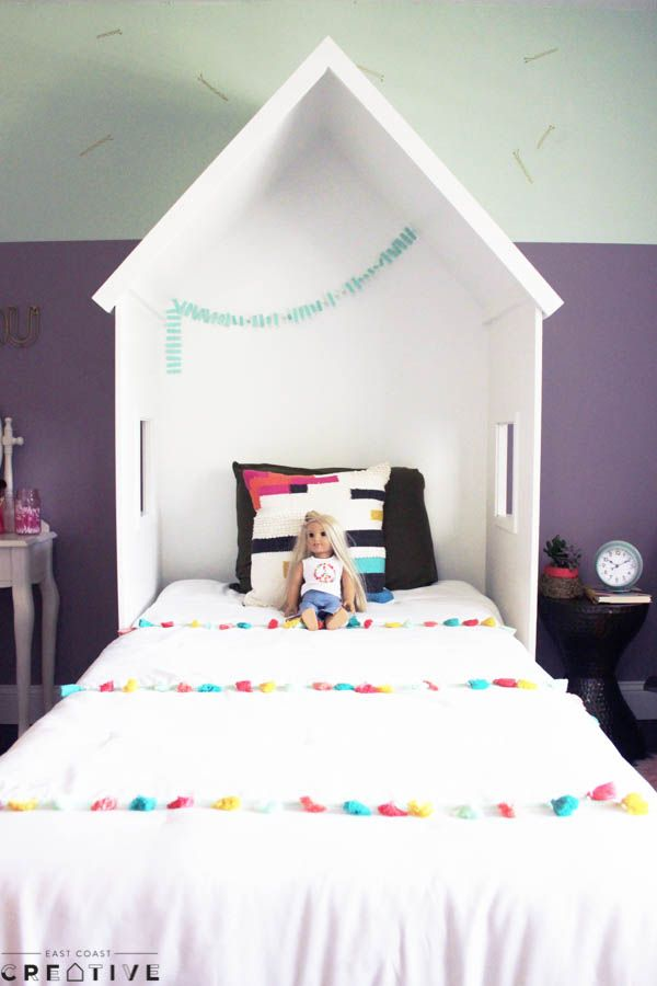 Turn Your Childu0027s Bed Into A Fun Playhouse With A Few Pieces Of Plywood And  A