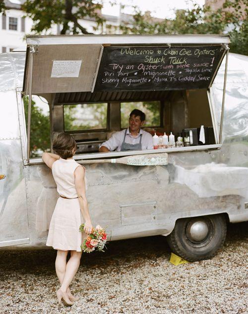 an oyster shuck truck - love it!