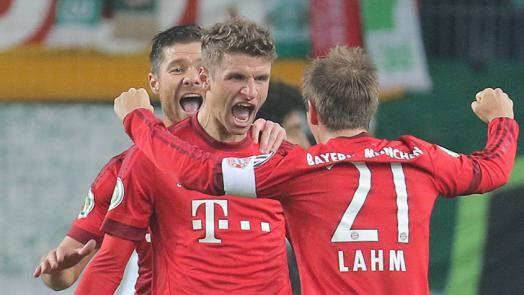 Spielbericht: VfL Wolfsburg - FC Bayern DFB-Pokal - FC Bayern München AG