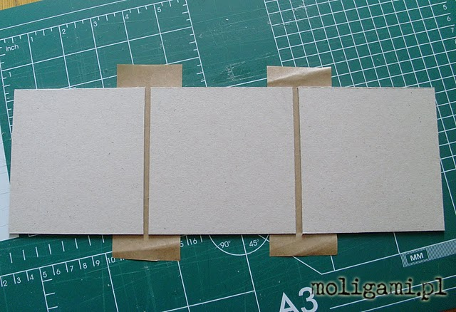 Moligami-up japonais: carton-tutorial