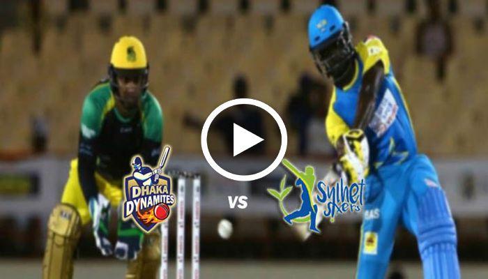 Sylhet Sixers Vs Dhaka Dynamites Bpl 2019 Live Cricket Streaming 19th Match 18 Jan 2019 Live Cricket Streaming Cricket Streaming Dhaka