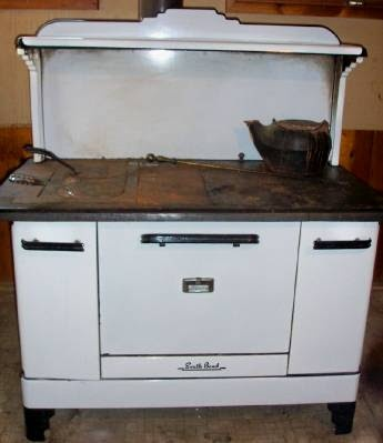 My Mother Had One Of These In The Basement And When Jim And I Got Married  It Was Our First Stove. We Used Propane Gas Not Wood.