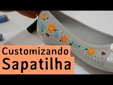 Como customizar sapatos com renda | Customizando - Blog de customização de roupas, moda, decoração e artesanato