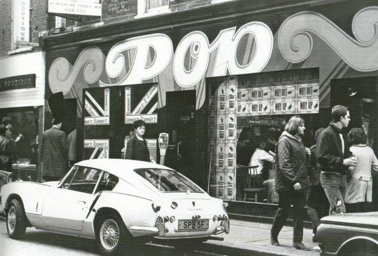 Pop Boutique, Carnaby Street, London 1966.