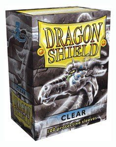 Dragon Shield Standard Card Sleeves - Pack of 100 - Clear