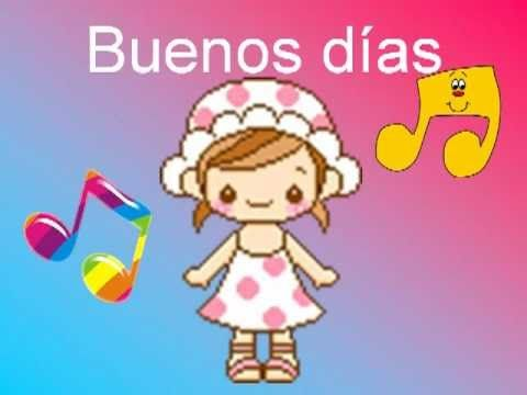 Buenos días (Canción infantil pegadiza)