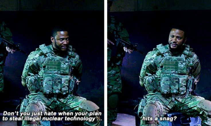 """Don't you just hate when your plan to steal illegal nuclear technology hits a snag?"" - John Diggle #Arrow"