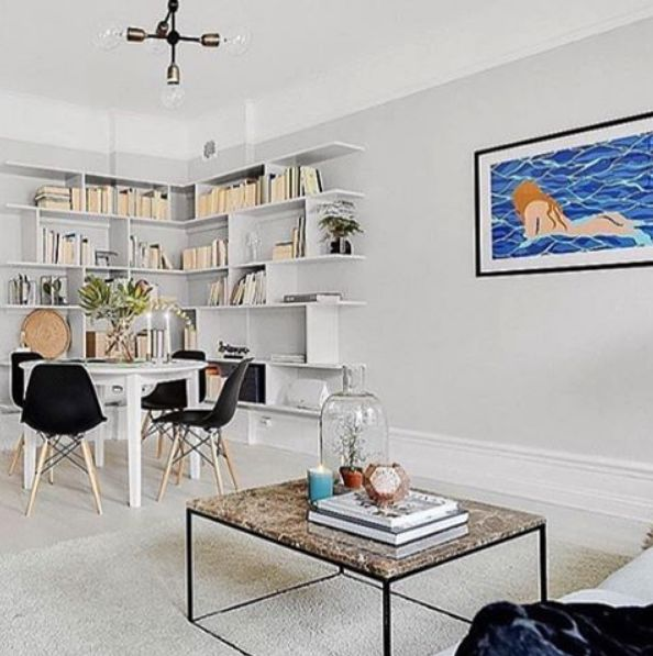 Brunt, längre marmorbord med svart stålram. Soffbord, brun, hallbord, marmor, bord, möbler, inredning. http://sweef.se/bord/173-jaguaren-soffbord-i-marmor-120x75cm.html