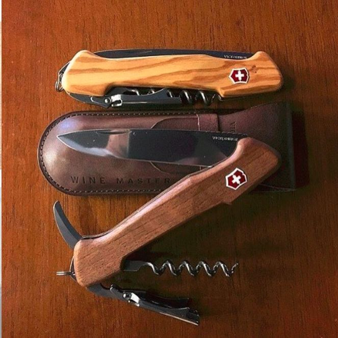 Victorinox Winemaster Olive Wood 130mm  Victorinox makes it possible for Wine Connoisseurs, picnic enthusiasts and collectors to celebrate with a multifunctional tool of the highest quality, precision, that features an extra-long corkscrew for guaranteed smooth extraction.  Make your purchase today! http://www.sharpedge.co.za/victorinox-winemaster-olive-wood-130mm?utm_content=bufferff074&utm_medium=social&utm_source=pinterest.com&utm_campaign=buffer  #SharpEdgeSharpShooter #Victorinox…