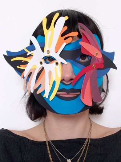Giovanna Cellini - cool masks!!