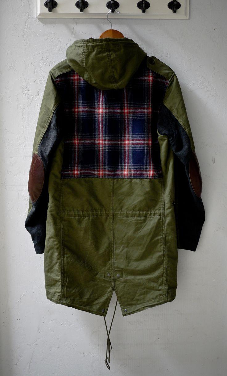 Tartan Parka | Wearable stuff | Pinterest
