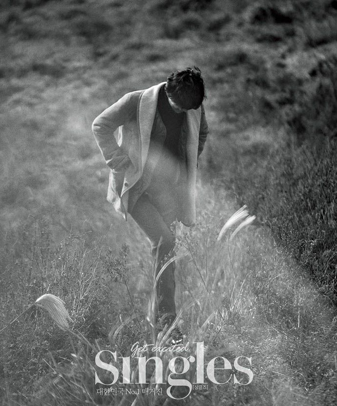 Gong Yoo's Jeju Island Pictorial For Singles' December 2013 Issue