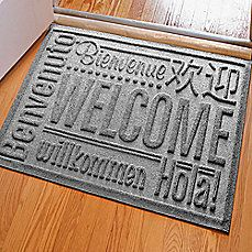 image of weather guard x welcome door mat