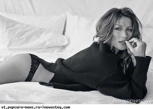 Жизель Бундхен в журнале Vogue Бразилия. Декабрь 2013