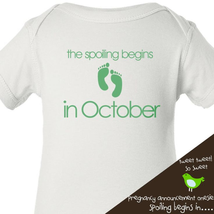 pregnancy announcement onesie - perfect for first time pregnancy announcements