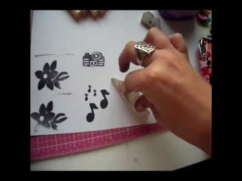 34 best como hacer sellos images on pinterest papercraft - Como hacer sellos ...
