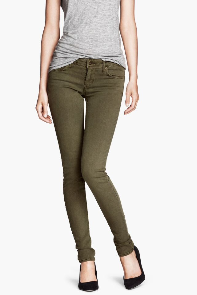 25 best images about Khaki Skinny Jeans on Pinterest   Brown belt ...