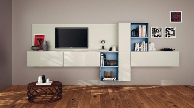 Moderne wandregale wohnzimmer 2 moderne wandregale for Moderne wandregale wohnzimmer