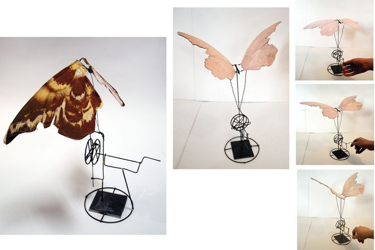 185 best kinetic sculpture images on pinterest kinetic art wire animated moth by albino blood sugar kinetic wire brazed kinetic toyskinetic artpuppet theatrediy solutioingenieria Choice Image