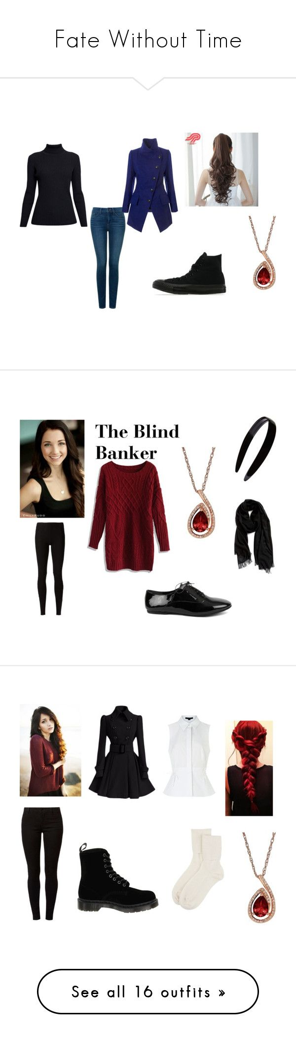 """""""Fate Without Time"""" by amhanna on Polyvore featuring Rumour London, NYDJ, Vivienne Westwood Anglomania, Converse, Pin Show, Lord & Taylor, CO, Rick Owens Lilies, Nordstrom and France Luxe"""