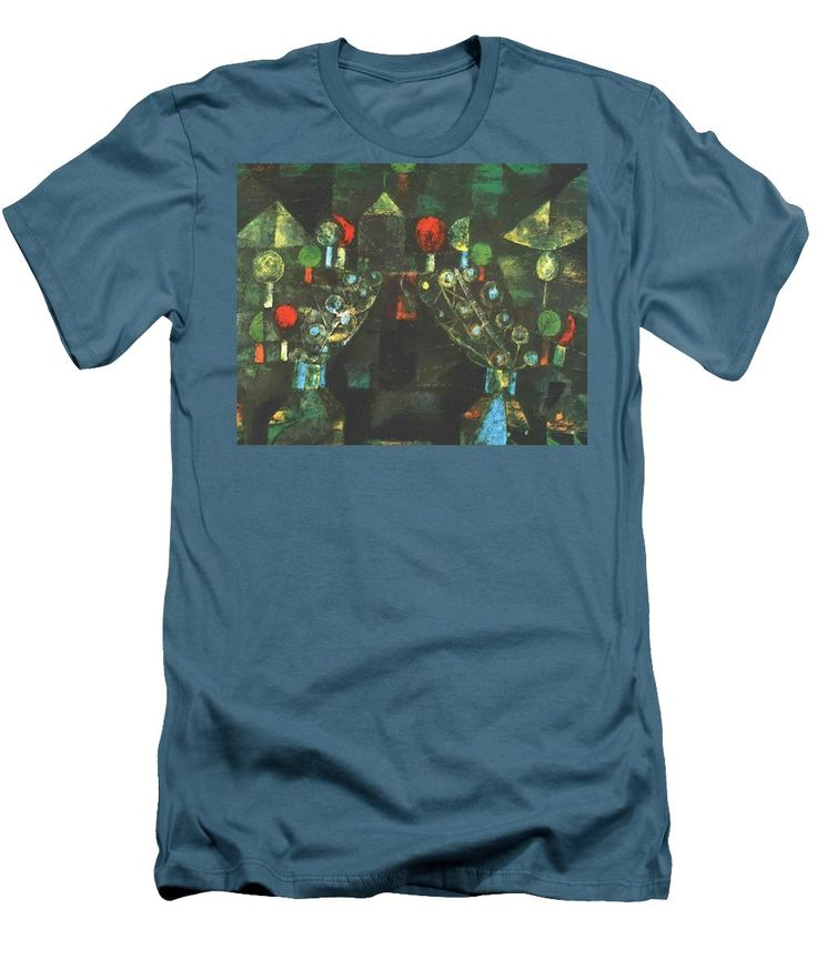 Women Men's T-Shirt (Athletic Fit) featuring the painting Women Pavilion 1921 by Klee Paul