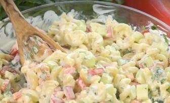 La meilleure salade de macaronis à déguster pendant les fêtes