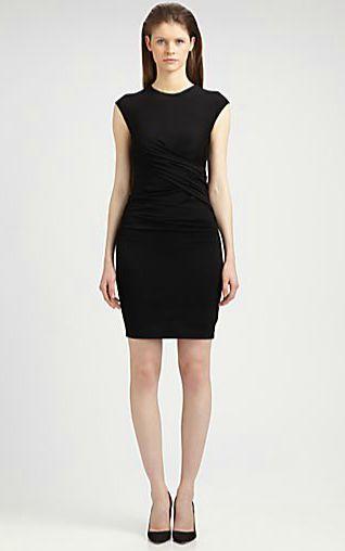 T by ALEXANDER WANG Pique Twist Dress 9-10-13