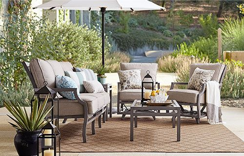 Outdoor Patio Furniture Collections, Pottery Barn Deck Furniture