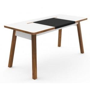 StudioDesk XL    En öppen och funktionell skrivbordsmiljö med plats för alla dina tillbehör.  Alla tillbehör och kablar döljs under en smart utdragbar bordsskiva, allt enkelt åtkomligt uppifrån. Inget mer krypande för att ansluta kablar!   Allt kablage får plats i lagringsutrymmet!  Endast en spänningskabel lämnar skrivbordet för att kunna ge ström till alla olika tillbehör.  Ett modernt skrivbord med en tidlös design. Mahognyben och den vita laminatskivan garanterar en fantastisk…