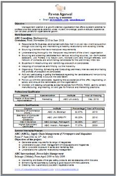 Professional Curriculum Vitae / Resume Template for All Job Seekers  Sample Template of an Experienced MBA Marketing Resume Sample, Professional Curriculum Vitae with Free Downlod in Word Doc (2 Page Resume) (Click Read More for Viewing and Downloading the Sample)   ~~~~ Download as many CV's for MBA, CA, CS, Engineer, Fresher, Experienced etc / Do Like us on Facebook for all Future Updates ~~~~