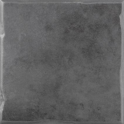Wandtegel gemme antraciet 10 x 10cm per 1m2 | Praxis