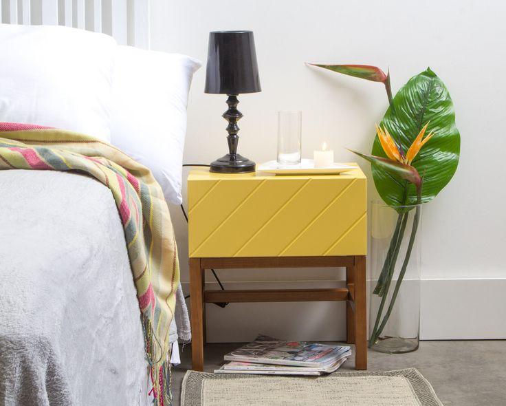 Criado-mudo Portunhol - Amarelo