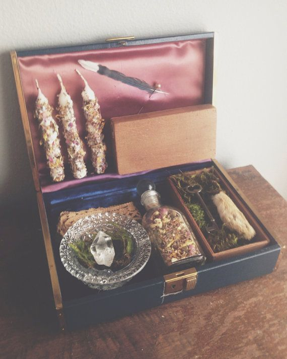 Fairytale Spell Box by MoveWithTheMoon on Etsy, $62.00