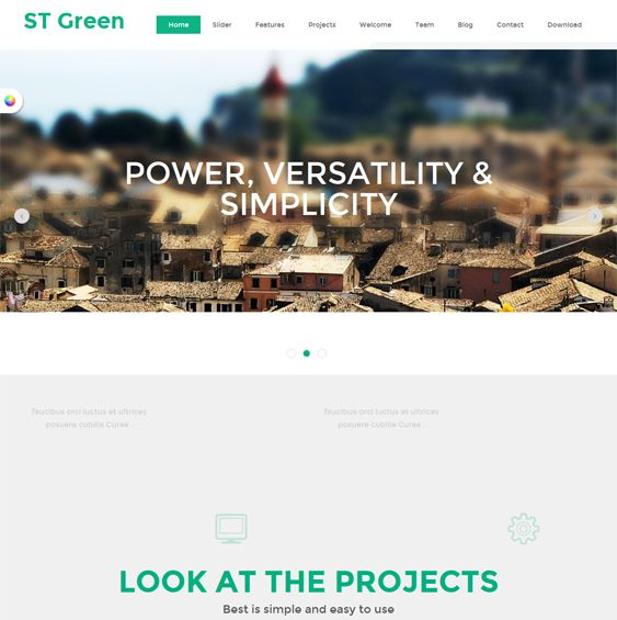 This free single page Joomla template is designed for creating an online portfolio, and it includes a responsive layout, a Bootstrap framework, and a simple design.