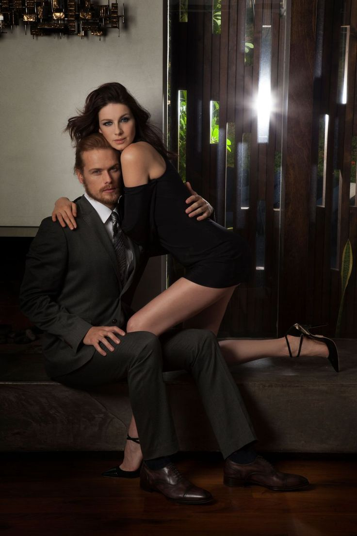 Here are some new HQ pics of Sam Heughan and Caitriona Balfe from the Emmy Magazine photoshoot More after the jump! –