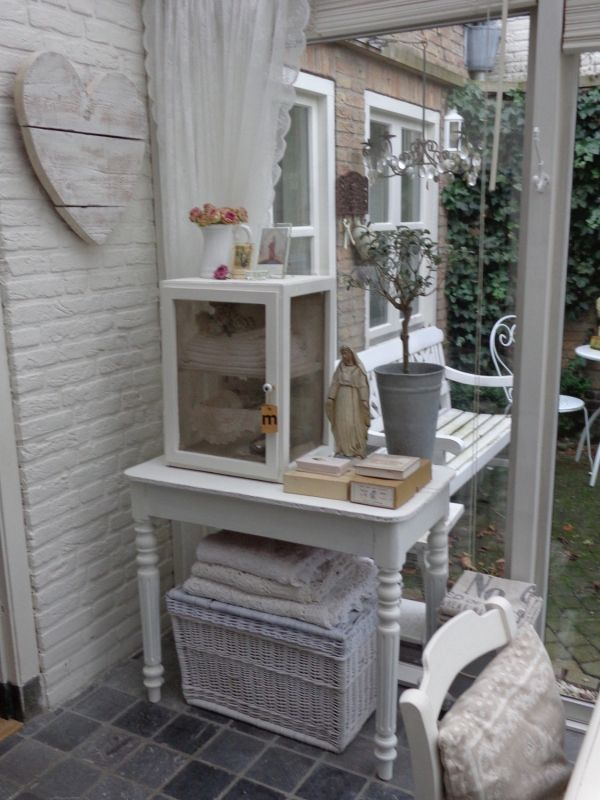 ... interieurideetjes on Pinterest Brocante, Shabby chic and Ladder