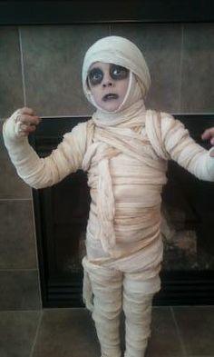 Déguisement en momie d'Halloween