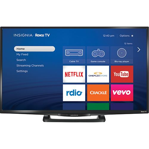 "Insignia 32"" 1080p 60Hz LED Smart Roku TV (NS-32DR420CA16)"