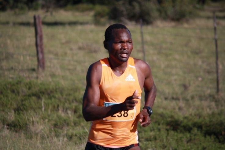 Needing no introduction, Stephen Muzhingi #LegendsMarathon 2014