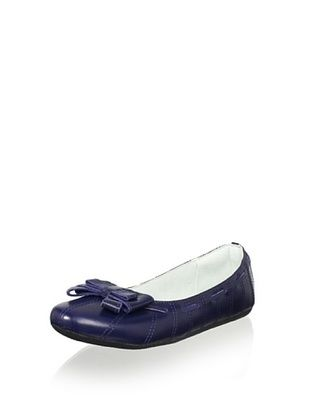 61% OFF Pampili Kid's Flat (Navy)