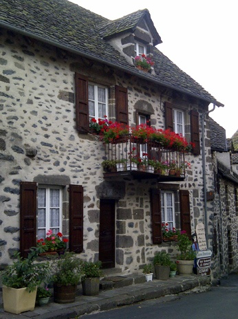 Salers (Cantal), France