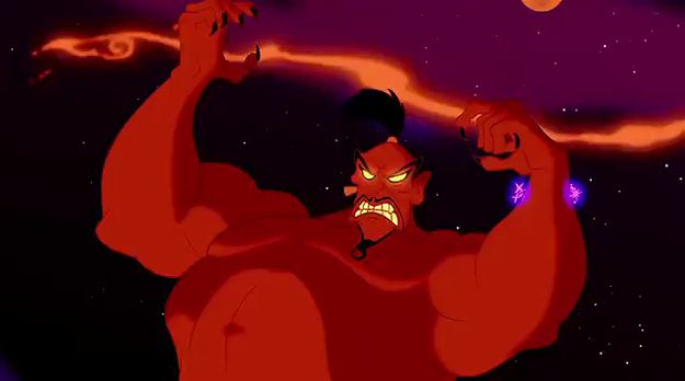 Poetic Justice Definition: A device in which virtue is ultimately rewarded or vice punished, often by an ironic twist of fate intimately related to the character's own conduct. Example: Jafar is so power hungry he fails to realize that becoming a genie will cost him his freedom.