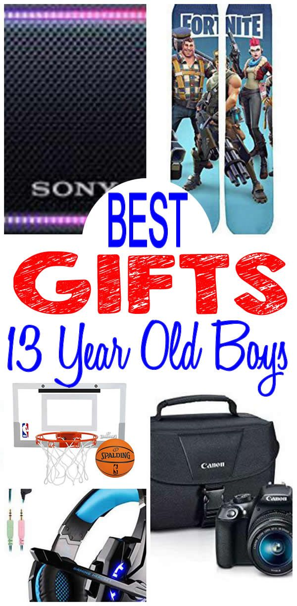13 Year Old Boy Gifts Get The BEST Boys Will Want Find Most Popular And Trendy Presents For A 13th Birthday Christmas