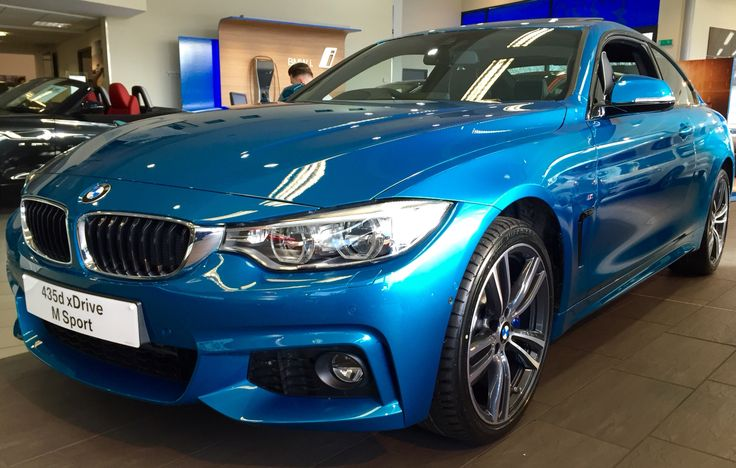 bmw 435d x drive individual atlantis blue other. Black Bedroom Furniture Sets. Home Design Ideas