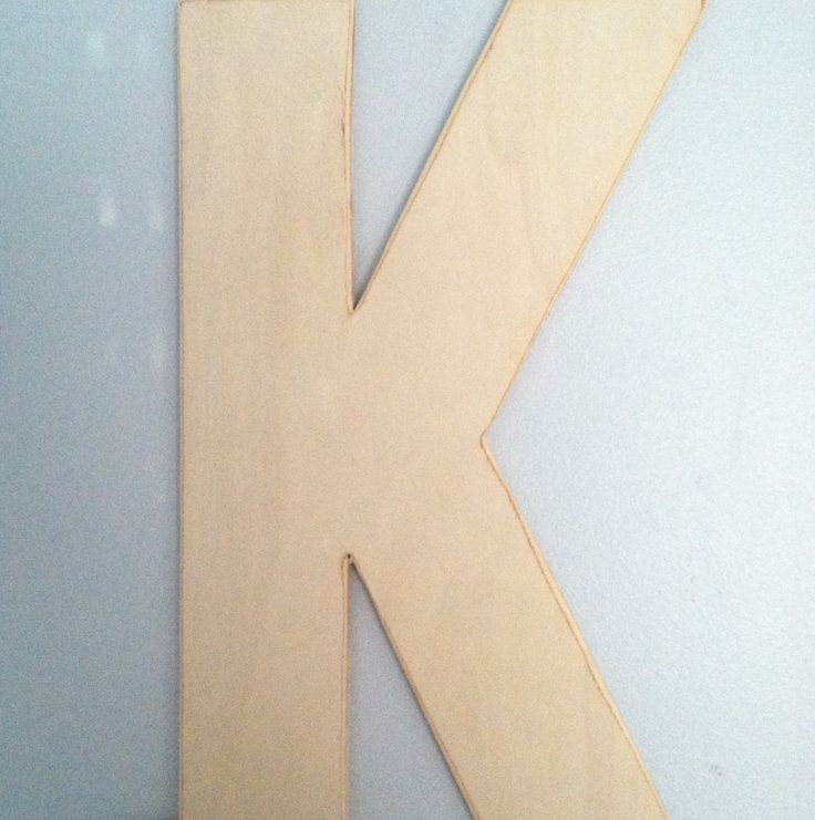 Wooden letters, wooden letter k, wooden letter g, wooden letter d, wooden letter a, wooden letters for nursery, wooden letters for wall. by MatchPointGifts on Etsy