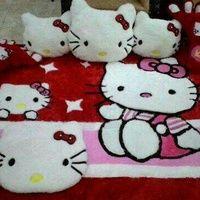 karpet raspur hello kitty