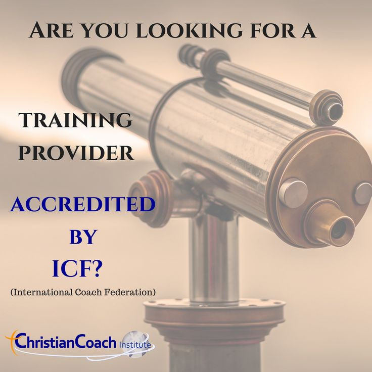 Are you looking for a training provider accredited by ICF (International Coach Federation)?